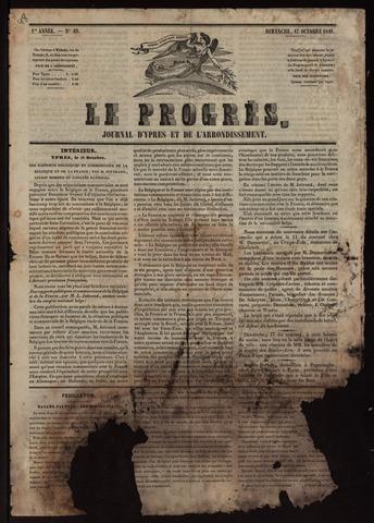 Le Progrès (1841-1914) 1841-10-17