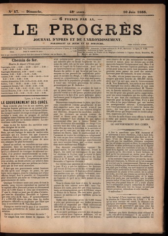 Le Progrès (1841-1914) 1888-06-10