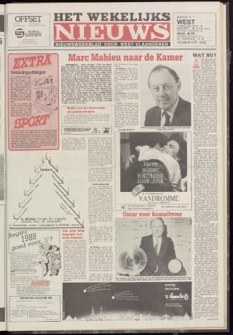 Het Wekelijks Nieuws (1946-1990) 1987-12-18