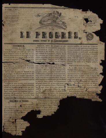 Le Progrès (1841-1914) 1841-05-01