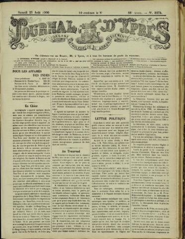 Journal d'Ypres (1874 - 1913) 1900-08-25