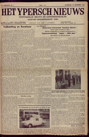 Het Ypersch nieuws (1929-1971) 1961-12-23