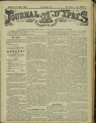 Journal d'Ypres (1874 - 1913) 1900-07-18