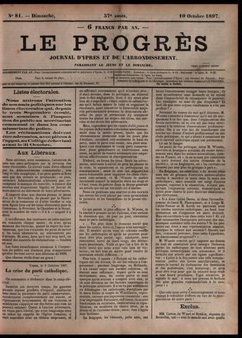 Le Progrès (1841-1914) 1897-10-10