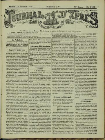 Journal d'Ypres (1874 - 1913) 1899-11-29