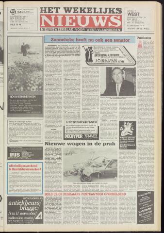 Het Wekelijks Nieuws (1946-1990) 1985-11-01