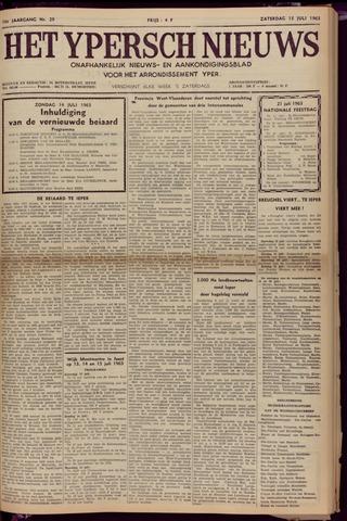 Het Ypersch nieuws (1929-1971) 1963-07-13