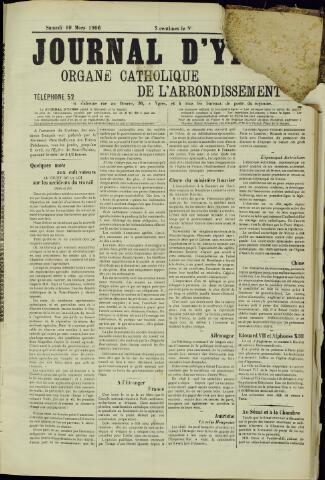 Journal d'Ypres (1874 - 1913) 1906-03-10