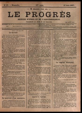 Le Progrès (1841-1914) 1897-06-27