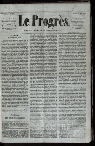 Le Progrès (1841-1914) 1847-06-17