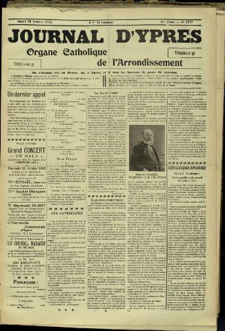 Journal d'Ypres (1874 - 1913) 1912-10-26