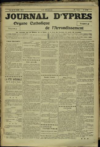 Journal d'Ypres (1874 - 1913) 1912-07-20