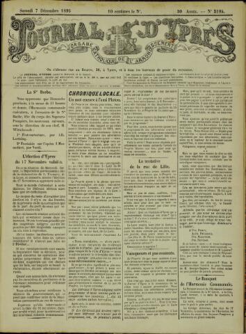 Journal d'Ypres (1874 - 1913) 1895-12-07