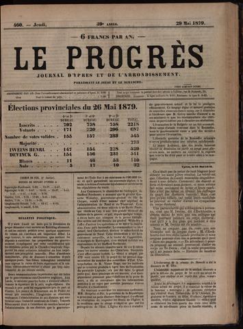 Le Progrès (1841-1914) 1879-05-29