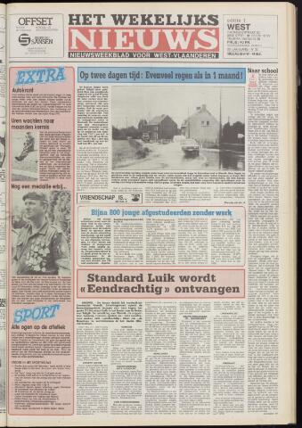 Het Wekelijks Nieuws (1946-1990) 1987-08-28