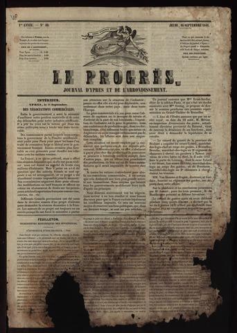 Le Progrès (1841-1914) 1841-09-16