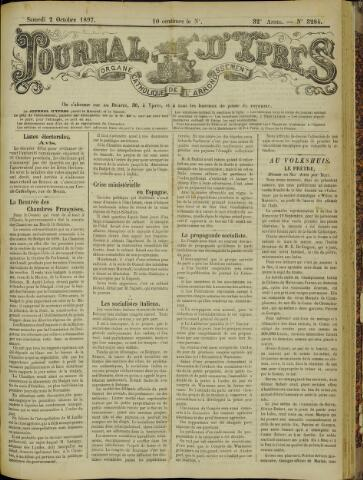 Journal d'Ypres (1874 - 1913) 1897-10-02