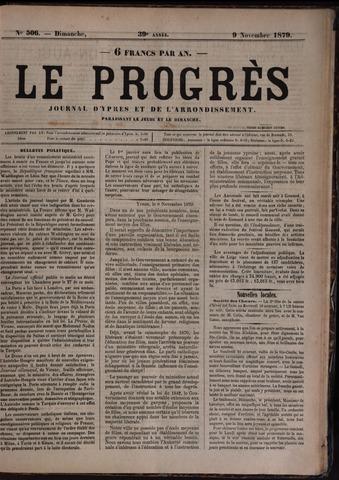 Le Progrès (1841-1914) 1879-11-09