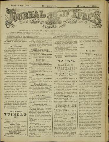 Journal d'Ypres (1874 - 1913) 1898-08-06