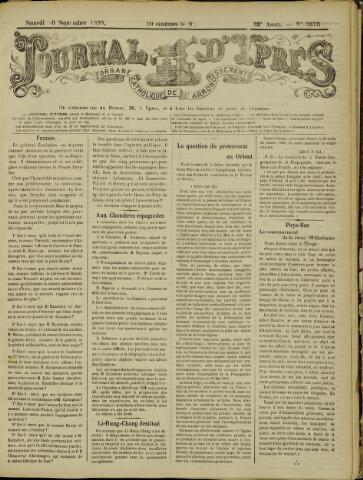 Journal d'Ypres (1874 - 1913) 1898-09-10