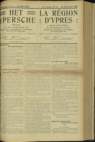 Het Ypersche (1925 - 1929) 1921-07-23