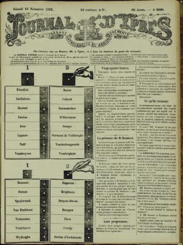 Journal d'Ypres (1874 - 1913) 1895-11-16