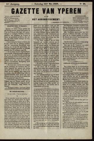 Gazette van Yperen (1857-1862) 1858-05-15