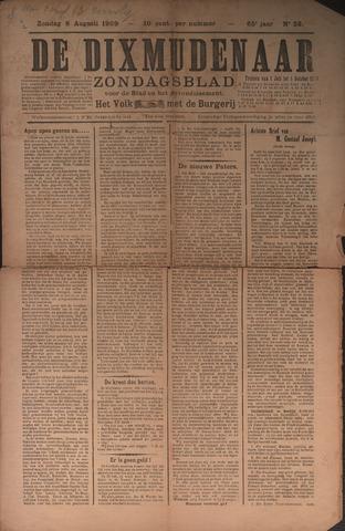 De Dixmudenaar 1909-08-08