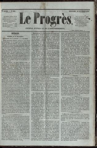 Le Progrès (1841-1914) 1847-11-21