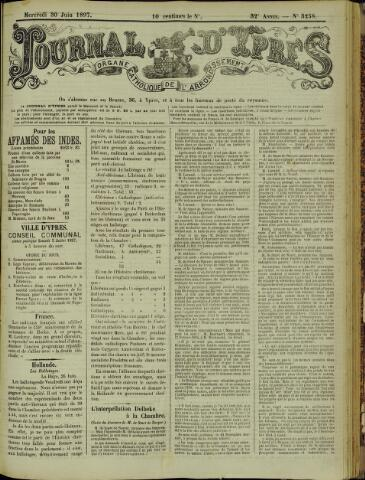 Journal d'Ypres (1874 - 1913) 1897-06-30