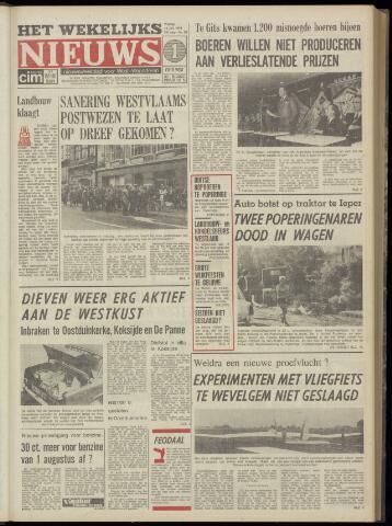 Het Wekelijks Nieuws (1946-1990) 1974-07-12
