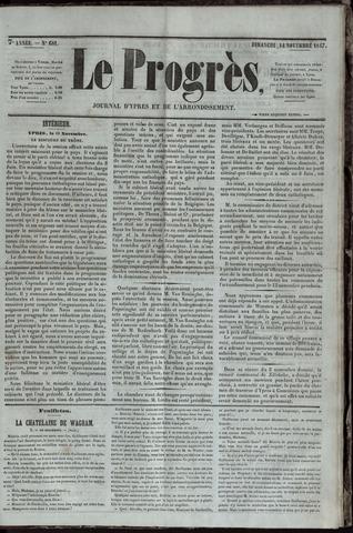 Le Progrès (1841-1914) 1847-11-14