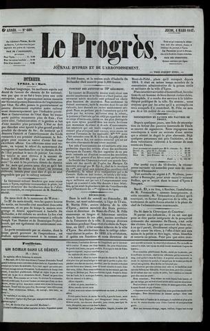 Le Progrès (1841-1914) 1847-03-04