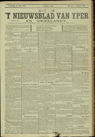 Nieuwsblad van Yperen en van het Arrondissement (1872 - 1912) 1905-03-18