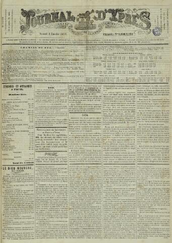 Journal d'Ypres (1874 - 1913) 1877-01-06