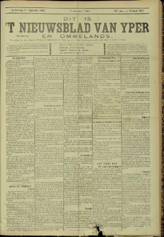 Nieuwsblad van Yperen en van het Arrondissement (1872 - 1912) 1905-09-09