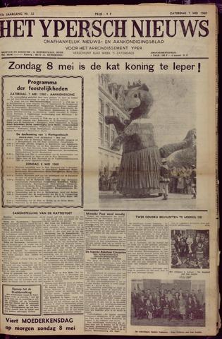 Het Ypersch nieuws (1929-1971) 1960-05-07