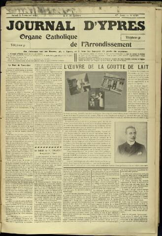 Journal d'Ypres (1874 - 1913) 1912-11-02