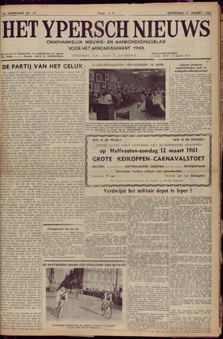 Het Ypersch nieuws (1929-1971) 1961-03-11