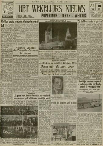 Het Wekelijks Nieuws (1946-1990) 1953-07-18