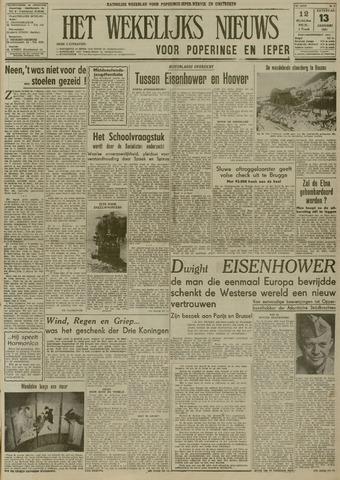 Het Wekelijks Nieuws (1946-1990) 1951-01-13