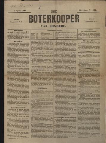 De Boterkoper 1884-04-02