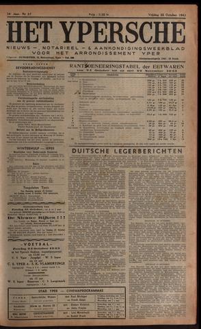Het Ypersch nieuws (1929-1971) 1943-10-22