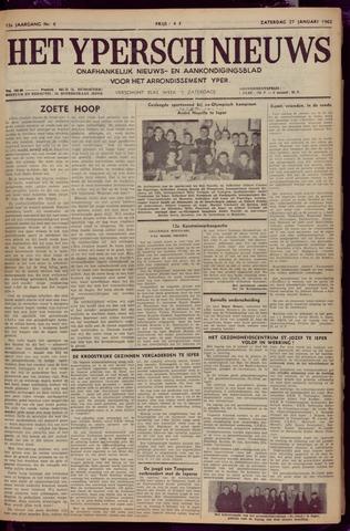 Het Ypersch nieuws (1929-1971) 1962-01-27