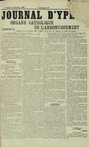 Journal d'Ypres (1874 - 1913) 1906-02-24