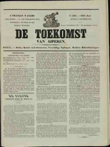 De Toekomst (1862 - 1894) 1872-11-03
