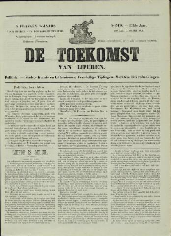 De Toekomst (1862 - 1894) 1872-03-05