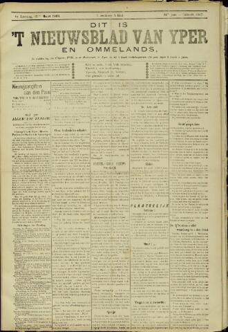Nieuwsblad van Yperen en van het Arrondissement (1872 - 1912) 1899-03-25