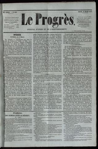 Le Progrès (1841-1914) 1847-03-18