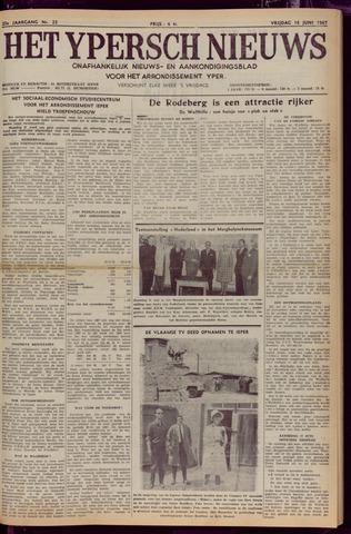 Het Ypersch nieuws (1929-1971) 1967-06-16